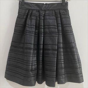 BANANA REPUBLIC Mesh Sheer Stripe Skirt